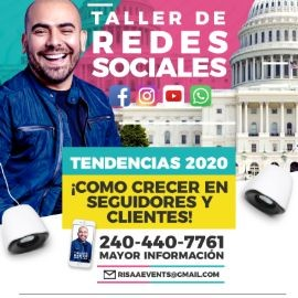 Image for Taller de Redes Sociales En Washington, DC POSTPONED