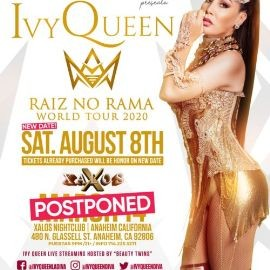 Image for IVY QUEEN EN ANAHEIM NEW DATE CONFIRMED