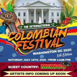 Image for POSTPONED: The International Colombian Festival of Washington DC 2020