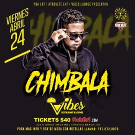 Image for CHIMBALA EN VIVO EN VIRGINIA BEACH CANCELED