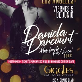 Image for DANIELA DARCOURT EN LOS ANGELES NEW DATE CONFIRMED