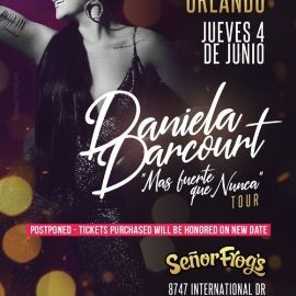 Image for DANIELA DARCOURT EN ORLANDO NEW DATE CONFIRMED