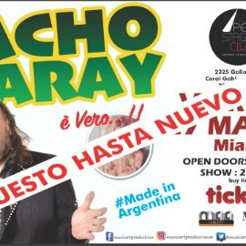 Image for CACHO GARAY EN MIAMI CANCELED