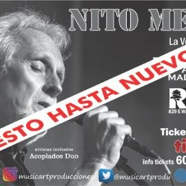 Image for NITO MESTRE EN MADISON CANCELED