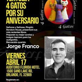 Image for Conversatorio Con El Escritor Jorge Franco De Colombia