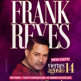 Image for FRANK REYES EN LOS ANGELES CANCELED