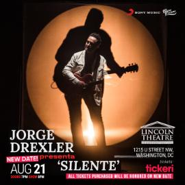 Image for Jorge Drexler presenta: Silente / Washington DC NEW CONFIRMED DATE