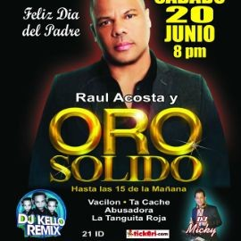 Image for ORO SOLIDO en NEW JERSEY NEW CONFIRMED DATE