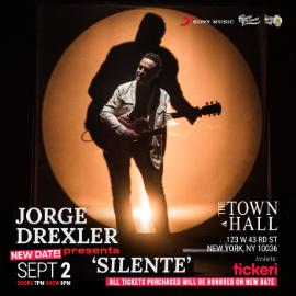 Image for Jorge Drexler presenta: Silente / New York CONFIRMED NEW DATE