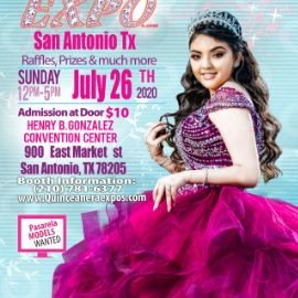 Image for San Antonio Quinceanera Expo July 26th 2020 At the Henry B. Gonzalez From 12 to 5