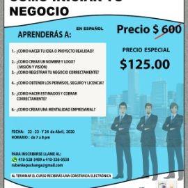 Image for CURSO ONLINE  COMO INICIAR TU NEGOCIO