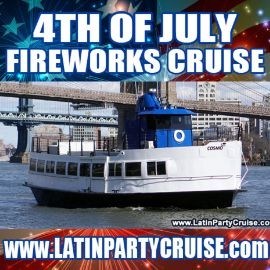 Image for 4th of July Fireworks Latin Cruise - Cosmo Yacht