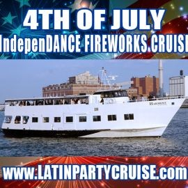 Image for 4th of July Fireworks IndepenDANCE Latin Cruise - Harmony Yacht