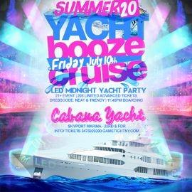 Image for NYC LED Glowsticks Booze Cruise Yacht Party at Skyport Marina 2020