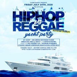 Image for NYC Hip Hop vs. Reggae® Summer Midnight Yacht Party at Skyport Marina Cabana