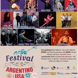 Image for FESTIVAL ARGENTINO 2020