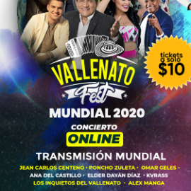Image for Live at Home: Vallenato Fest Mundial
