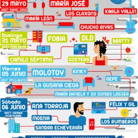 Image for Live at Home: Citibanamex Conecta con Molotov, Kinky, La Gusana Ciega y mas