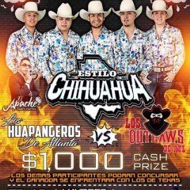 Image for Estilo Chihuahua, El Apache Marco Castro, Los Huapangeros de Atlanta vs Los Outlaws en Vivo!