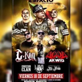 Image for C-Kan, AKWID, Coneccion Clan, Lalo KV y MC Pablo en Vivo!