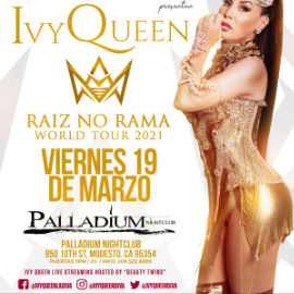 Image for IVY QUEEN EN MODESTO NEW DATE CONFIRMED