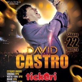Image for David Castro en Concierto Virtual POSTPONED