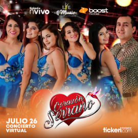 Image for Corazon Serrano en VIVO Celebrando Fiestas Patrias!