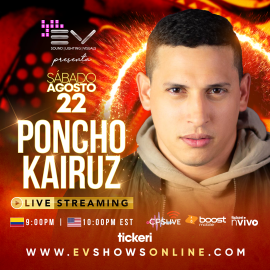 Image for Poncho Kairuz en Concierto Virtual!