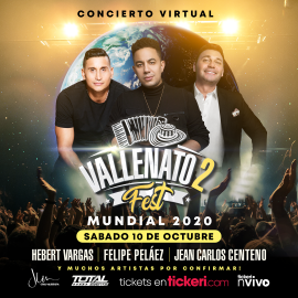 Image for Vallenato Fest 2 Mundial 2020 Concierto Virtual