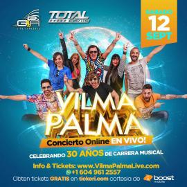 Image for Vilma Palma e Vampiros en Concierto Virtual en Vivo!