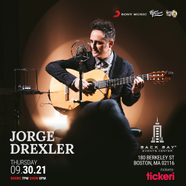 Image for Jorge Drexler presenta: Silente / Boston NEW CONFIRMED DATE