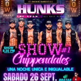 """Image for """"Hunks"""" The #1 Show Chippendales!"""