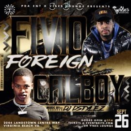 Image for PDA ENT PRESENTS FIVIO FOREIGN & CALBOY