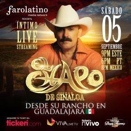 Image for El Chapo en VIVO | Concierto Virtual