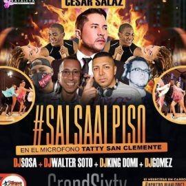 Image for Salsa al Piso con Cesar Salaz, Taty San Clemente y mas!