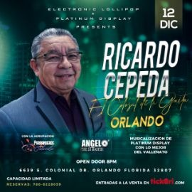 Image for Ricardo Cepeda  - Orlando / Diciembre 12
