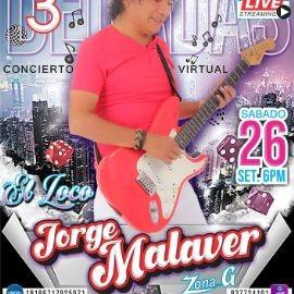 Image for Celebrando su 30 Aniversario: Jorge Malaver  en Concierto Virtual en Vivo!