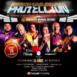 """Image for """"Proyeccion"""" La nueva expresion del Folklore de Bolivia en Concierto Virtual Vivo!"""