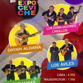 Image for Dayan Aldana, Los Embajadores Criollos, Los Aviles y Los Chamas en concierto virtual en Vivo!