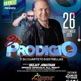 Image for El Prodigio y su Cuarteto 5 Estrellas en Concierto!