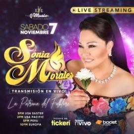 Image for Feliz 26 Aniversario de Sonia Morales, Concierto Virtual en Vivo!