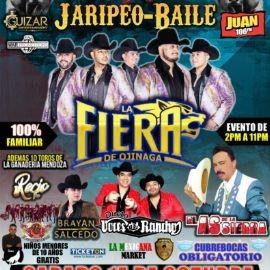 Image for Jaripeo-Baile con La Fiera de Ojinaga, Brayan Salcedo, Dueto Voces de Rancho, As de la Sierra y Mas!