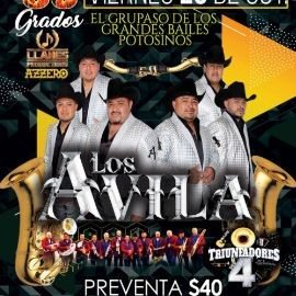 Image for Gran Baile Potosino con Los Avila y Los Triunfadores del 4 en Vivo!