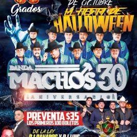 Image for Fiesta de Halloween con Banda Machos 30 Aniversario  y Los Gerentes de la Plaza en Vivo!