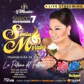Image for Boost Mobile te regala: Feliz 26 Aniversario de Sonia Morales, Concierto Virtual en Vivo!