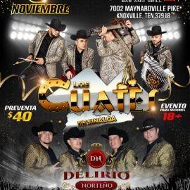 Image for Los Cuates de Sinaloa y Delirio Norteno