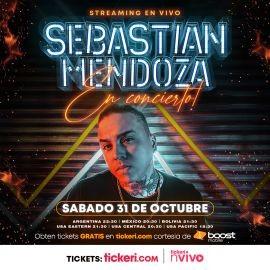 Image for BOOST MOBILE TE REGALA! Sebastian Mendoza en Concierto Virtual en Vivo!
