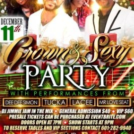 Image for Grown & Sexy Party with Dee Dee Simon, Tucka, Lacee, Mr Love Seat and More!