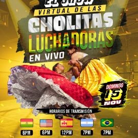 Image for El Show Virtual de las Cholitas Luchadoras en Vivo!