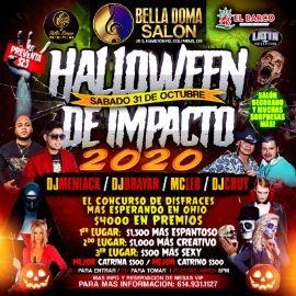 Image for Halloween de Impacto 2020 con DJ Meniack, DJ Brayan, MC Leo, DJ Chuy y mucho mas! 🎶